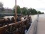 """Biedrības """"Rīgas Kuģis"""" biedru tikšanās uz vikingu kuģa """"Indriķis""""/Meeting of association """"Riga Ship"""" members on viking ship """"Indriķis"""""""