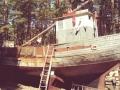 01Ventspils Piejuuras briivdabas muzejs_Zvejas kuteris Vieniiba_pirms restauraacijas_Foto A.Baiks